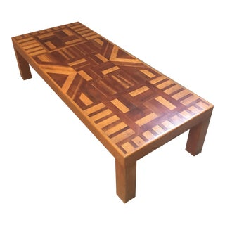 Mid-Century Parkay Coffee Table