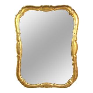 Vintage Gilt Wood Mirror