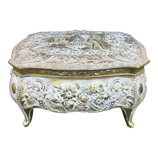 Antique French Regency Jewelry Box