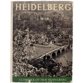 """Glimpses of Old Heidelberg"" Hardcover Book by Rudolf Schuler"