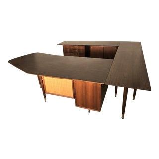 Vintage Mid-Century Executive Desk