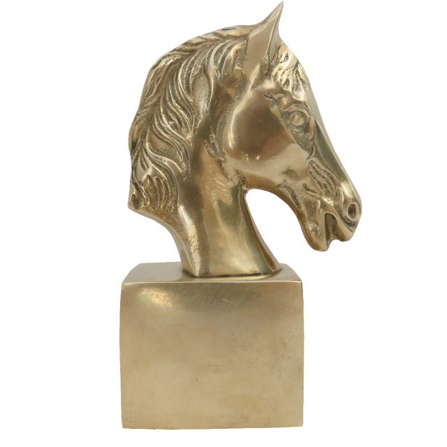 Brass Horse Bust - Image 1 of 6
