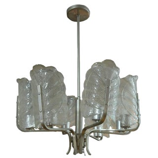 Mid-Century Murano Light Fixture