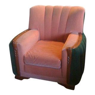 1920s Art Deco Club Chair