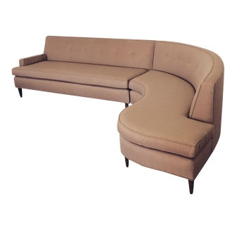 Mid-Century S-Curve Sectional