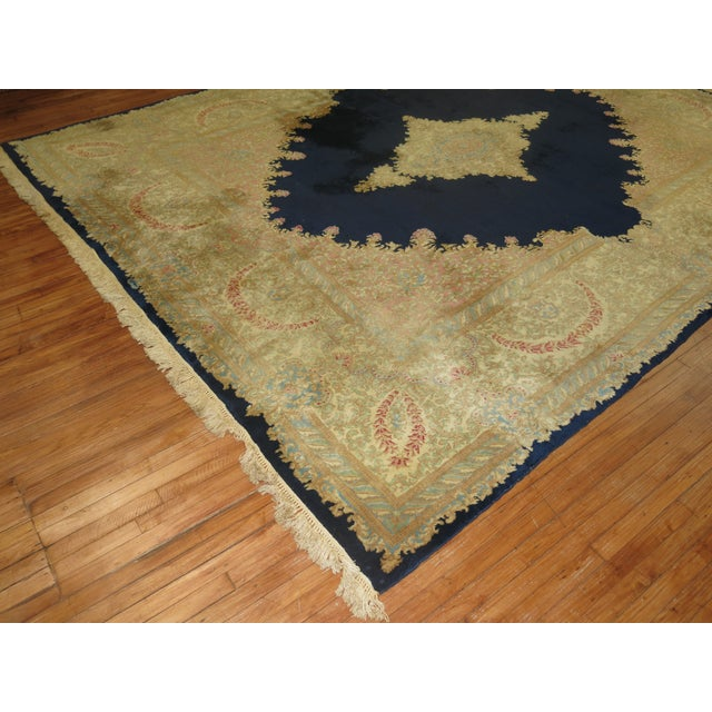 Vintage Persian Kerman Rug - 10'4'' x 13'2'' - Image 4 of 10