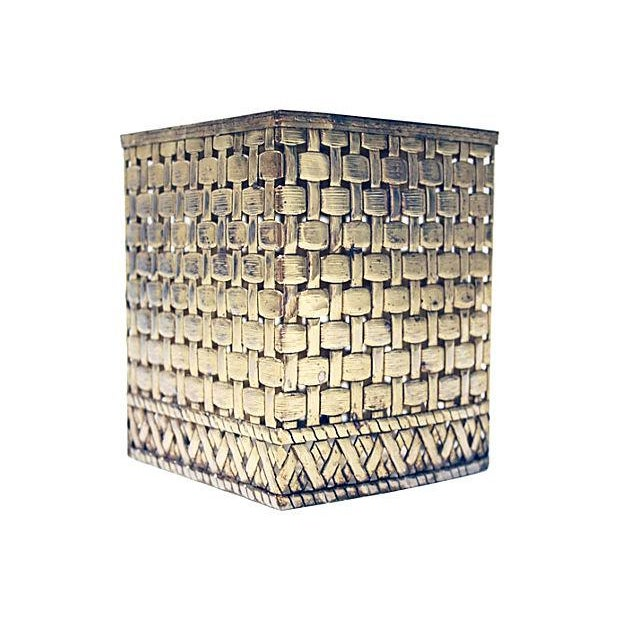 Bamboo Style Tissue Box Cover - Image 2 of 4