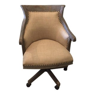 Uttermost Kimalina Linen Desk Chair