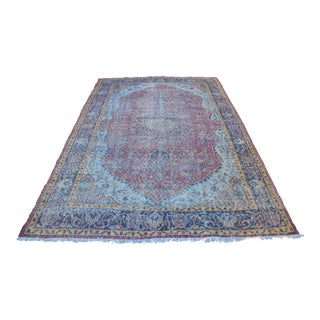 Decorative Handmade Oushak Rug - 6′3″ × 9′5″