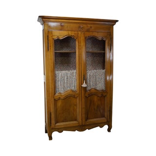 Antique 18th Century French Fruitwood Armoire
