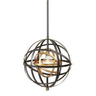 Large Round Orb Pendant Light