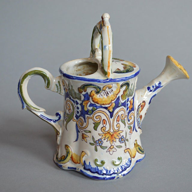 French Handpainted Watering Can - Image 3 of 5
