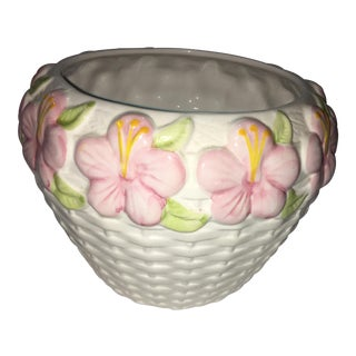 O'Brate Ceramic Floral Bowl