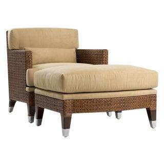 New Panama Lounge Chair & Ottoman