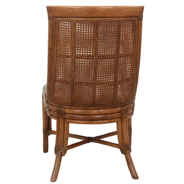 Bamboo Dining Chairs - Set of 8 - Image 6 of 9