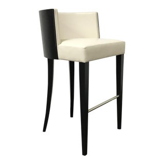 RJones Leather Stiletto Barstool