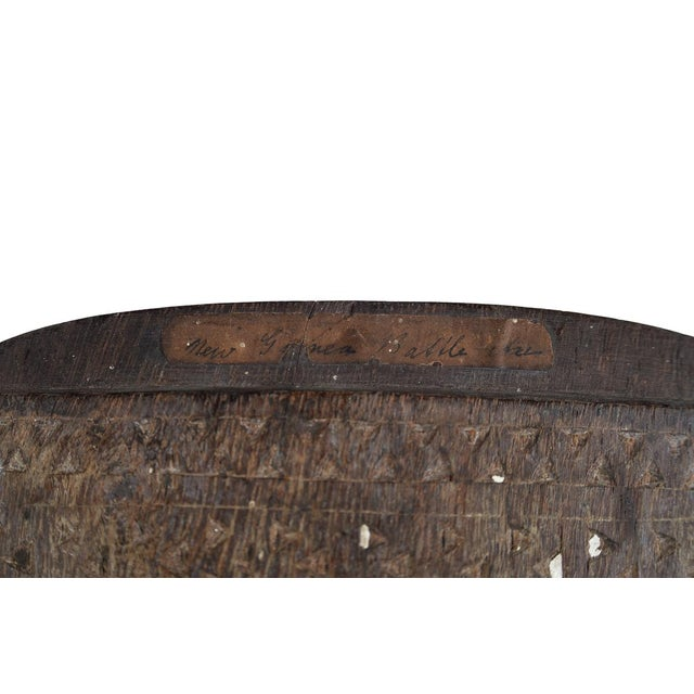 19th Century New Guinea Hand Carved Paddle - Image 5 of 9
