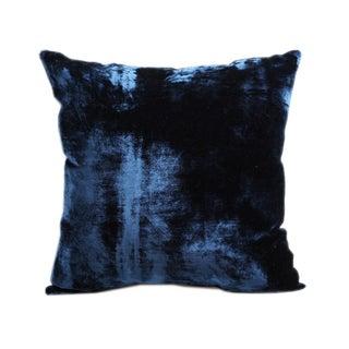 Vintage Handloomed Silk Velvet Pillows - A Pair