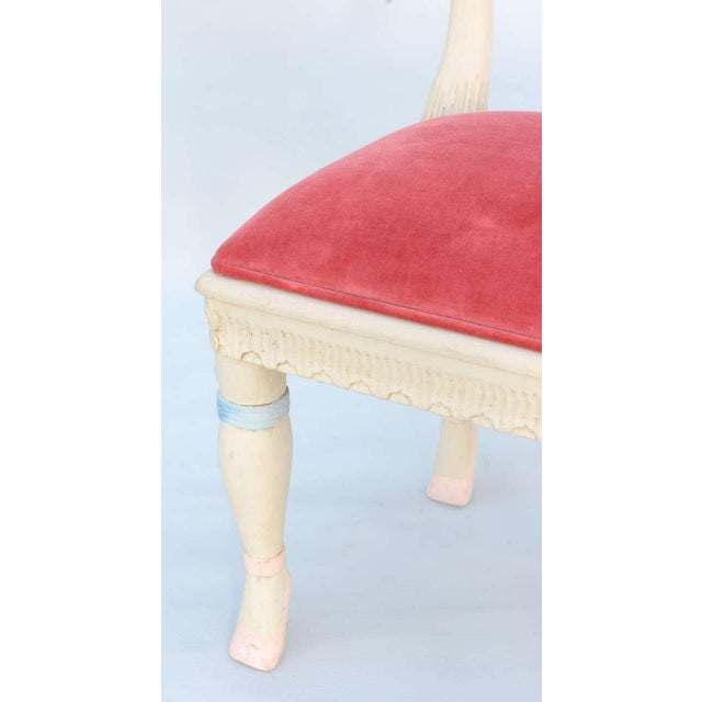 Set of Four Ballerina Side Chairs - Image 8 of 10