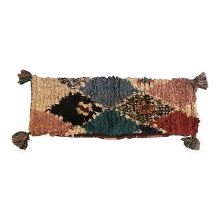 Moroccan Boho Pom Pom Pillow