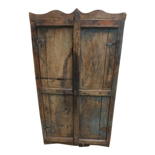 Antique Rustic Primitive Cupboard