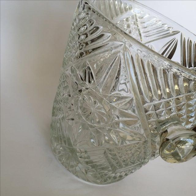 Cut Glass Crystal Ice Bucket - Image 7 of 8