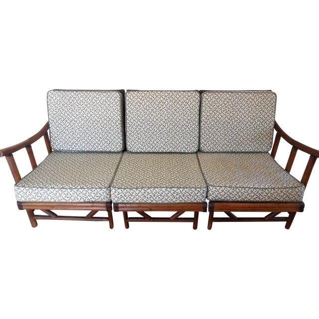 Image of La Jolla Rattan Sectional Sofa