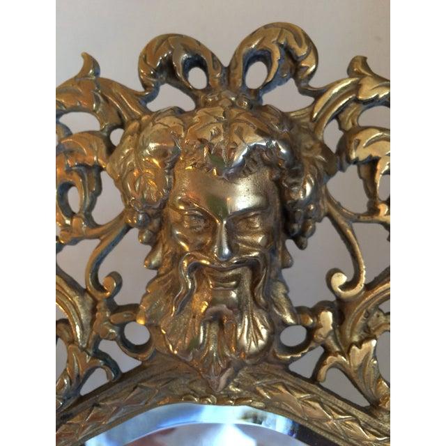 Bradley & Hubbard Brass Wall or Tabletop Mirror - Image 3 of 8