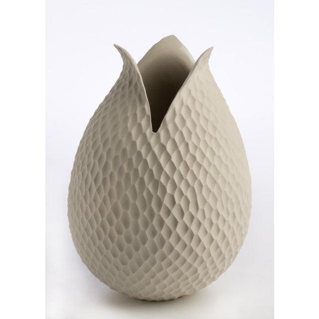 Mid-Century German Ceramic Tulip Vase - Image 2 of 3