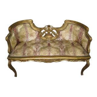 19th C. French Frame Settee