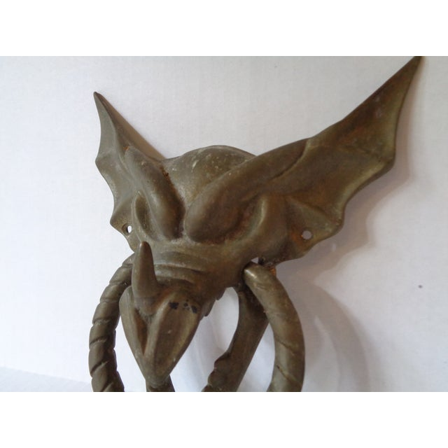 Dragon door knocker chairish - Dragon door knockers for sale ...