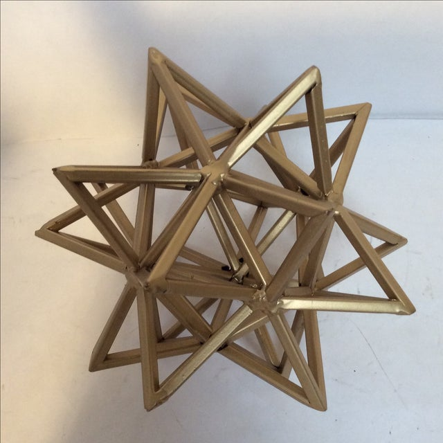 Geometric Gold Star - Image 5 of 7