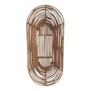 Oval Shaped Bamboo Basket