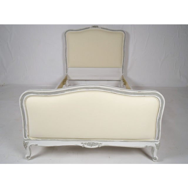 Image of Antique French Louis XV Twin Bedframes - A Pair