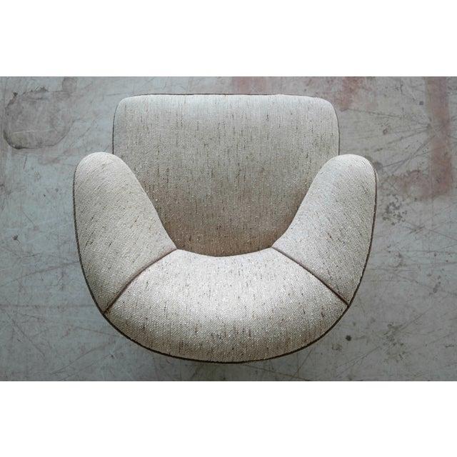 Viggo Boesen Attributed Danish Modern Lounge Chair 1940s - Image 10 of 11