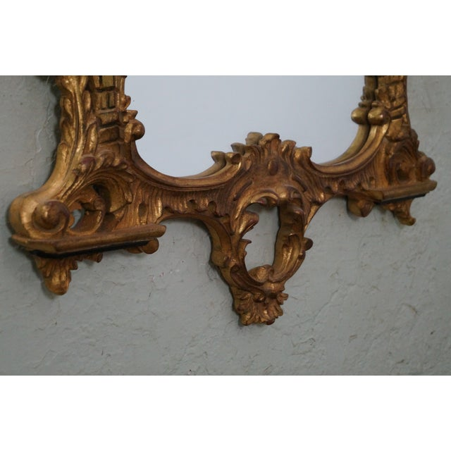 Image of Carvers Guild Gilt Gold Painted Wall Mirror