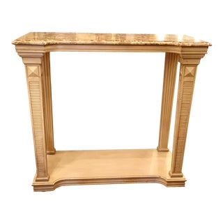 Unusual Baker Furniture Company Neoclassical Entry or Console Table