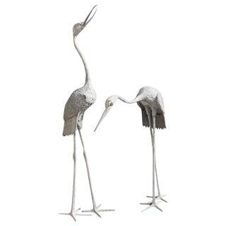 Art Deco Flamingo Sculptures - A Pair