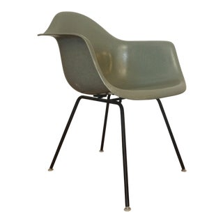 Eames for Herman Miller Green Shell Chair