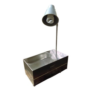 SonicCleaner Repurposed Table Lamp With Dish in Base