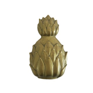 Vintage Brass Pineapple Door Knocker