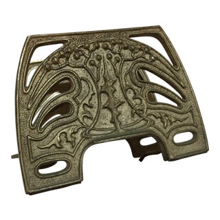 Art Nouveau Style Brass Letter Holder