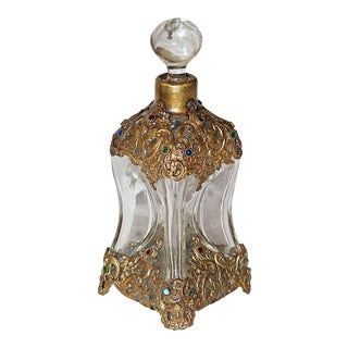 Hollywood Regency Perfume Bottle