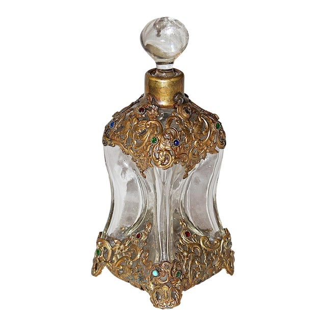 Hollywood Regency Perfume Bottle - Image 1 of 7