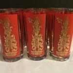 Image of Balinese Dancer High Ball Glasses - Set of 6
