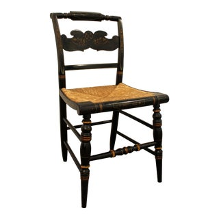 Hitchcock Rush Seat Side Chair