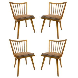 Russel Wright for Conant Ball Dining Chairs - S/4