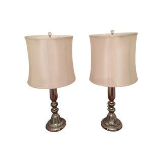 Arteriors Home Mercury Glass Lamps - Pair