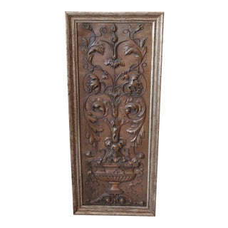 Late 19th-C. Copper Plaque