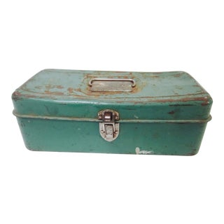 Green Liberty NY Metal Chest